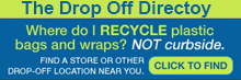 Where do I recycle plastic bags and wraps?